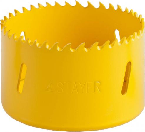 Коронка STAYER PROFESSIONAL Би-металлическая, универсальная, d=70мм