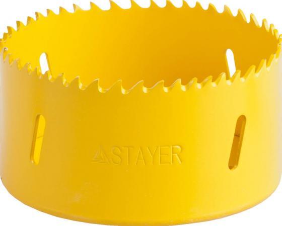 Коронка STAYER PROFESSIONAL Би-металлическая, универсальная, d=83мм
