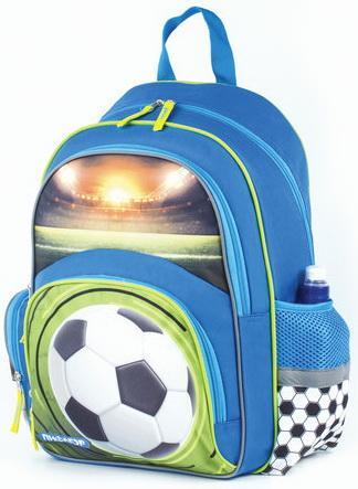 Купить Рюкзак ПИФАГОР+ для начальной школы, мальчик, Футбольный мяч, 40х30х15 см, 227936, Рюкзаки и сумки