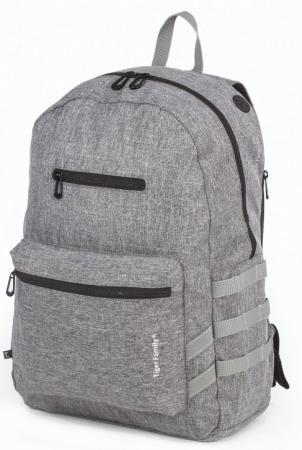 Рюкзак дышащая спинка Tiger Family Рюкзак молодежный, 17 л серый рюкзак bange bg1907 серый 15 6