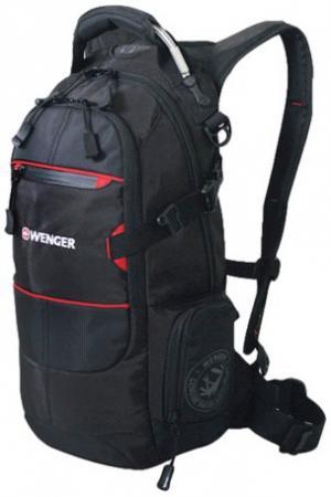 """Рюкзак туристический дышащая спинка WENGER """"Narrow Hiking Pack"""" 22 л черный цена и фото"""