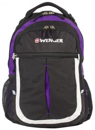 Рюкзак ручка для переноски WENGER Montreux 22 л фиолетовый черный