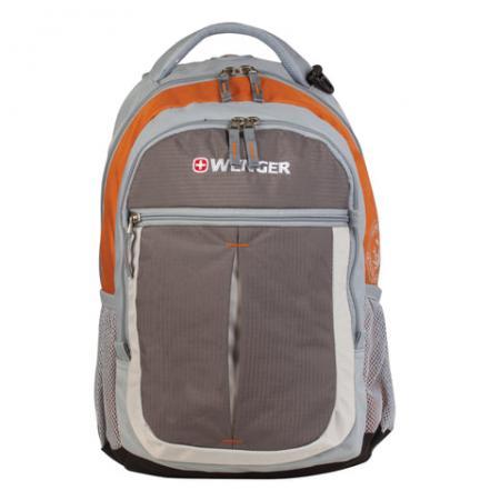 Рюкзак WENGER Montreux 22 л серый оранжевый