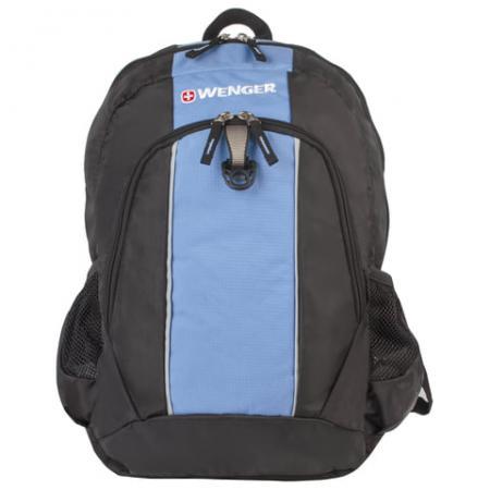 Фото - Рюкзак ручка для переноски WENGER Рюкзак универсальный 20 л черный голубой рюкзак светоотражающие материалы wenger универсальный 26 л черный