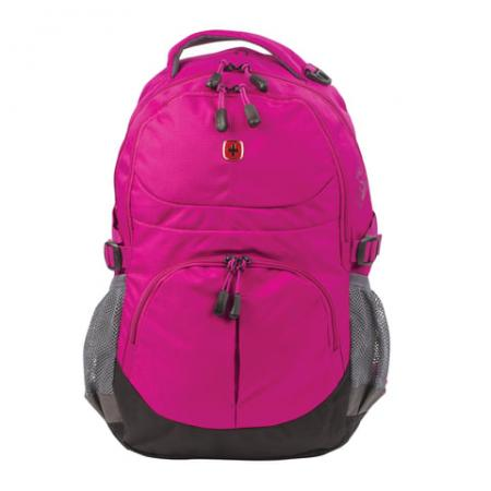 Рюкзак ручка для переноски WENGER Рюкзак универсальный, 22 л фуксия цена и фото