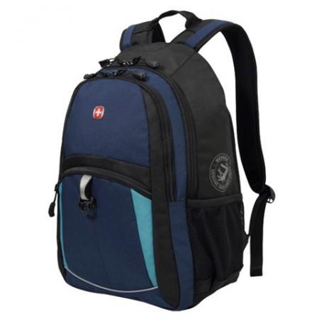 Фото - Городской рюкзак дышащая спинка WENGER универсальный 22 л сине-черный рюкзак светоотражающие материалы wenger универсальный 26 л черный