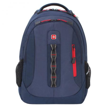 Рюкзак дышащая спинка WENGER Рюкзак универсальный 28 л темно-синий рюкзак training id темно синий