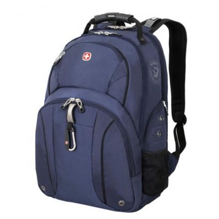 Фото - Рюкзак с отделением для ноутбука WENGER универсальный 26 л сине-черный рюкзак светоотражающие материалы wenger универсальный 26 л черный