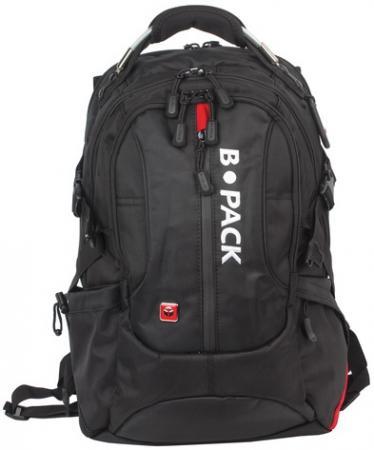 Рюкзак с отделением для ноутбука B-PACK S-08 40 л черный цена