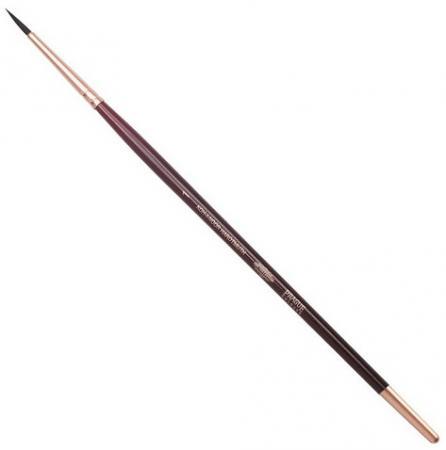 Кисть художественная KOH-I-NOOR белка, круглая, №1, короткая ручка, блистер, 9935001017BL кисть action ab006sf 1 белка