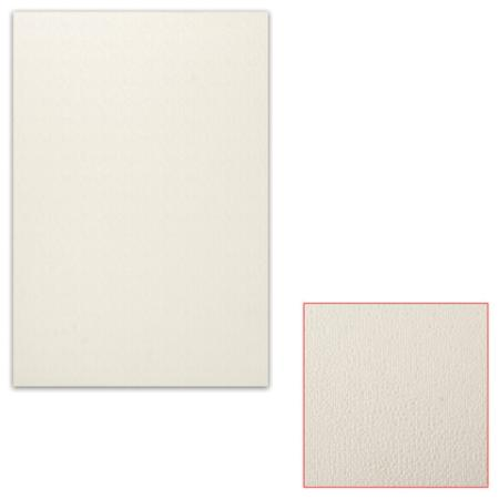 Белый картон грунтованный для масляной живописи, 25х35 см, толщина 0,9 мм, масляный грунт, односторонний