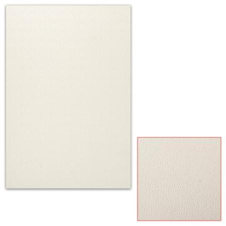Белый картон грунтованный для масляной живописи, 50х70 см, толщина 0,9 мм, масляный грунт, односторонний
