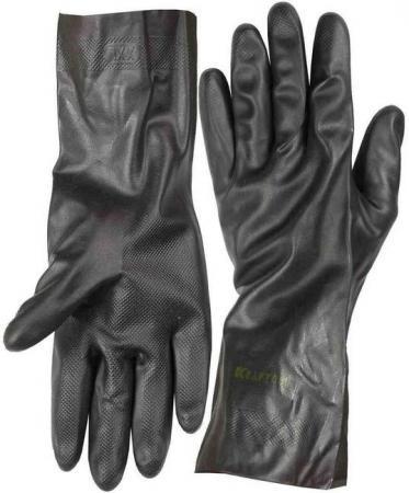 Перчатки KRAFTOOL противокислотные, неопреновые, повышенной прочности, с х/б напылением, размер XL