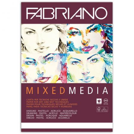 Фото - Альбом для рисования FABRIANO Mixed Media A4 40 листов fabriano альбом для пастели ingres 60 листов формат a4 65212972