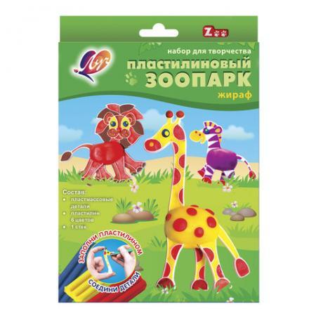 Набор для творчества ЛУЧ Жираф 6 цветов
