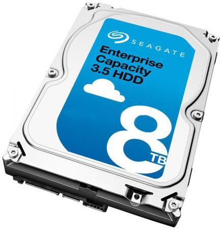"""лучшая цена Жесткий диск Seagate Original SAS 8Tb ST8000NM0065 Exos (7200rpm) 256Mb 3.5"""""""