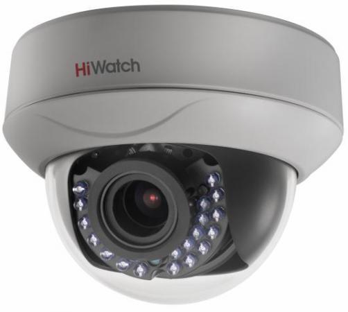 Камера видеонаблюдения Hikvision HiWatch DS-T207P 2.8-12мм цветная корп.:белый
