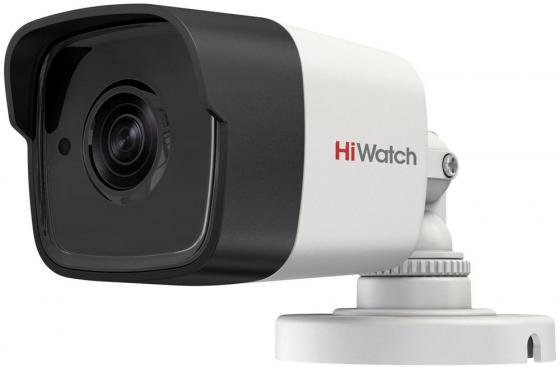 Камера видеонаблюдения Hikvision HiWatch DS-T500P 6-6мм HD TVI цветная корп.:белый камера видеонаблюдения hikvision ds 2ce16h5t ite 3 6 3 6мм цветная корп белый