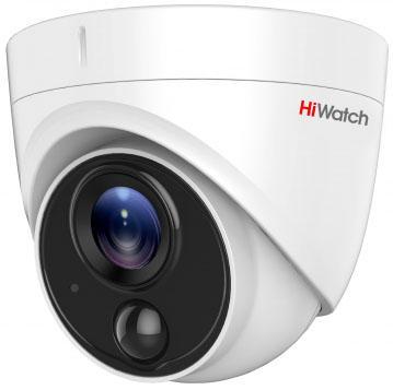 Камера видеонаблюдения Hikvision HiWatch DS-T213 3.6-3.6мм цветная корп.:белый камера видеонаблюдения hikvision ds 2ce16h5t ite 3 6 3 6мм цветная корп белый