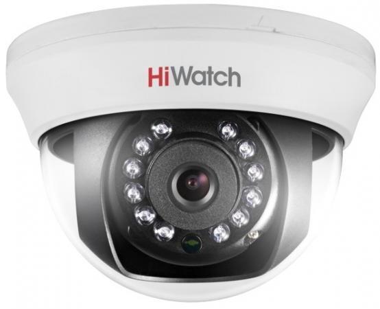 Камера видеонаблюдения Hikvision HiWatch DS-T201 6-6мм HD TVI цветная корп.:белый