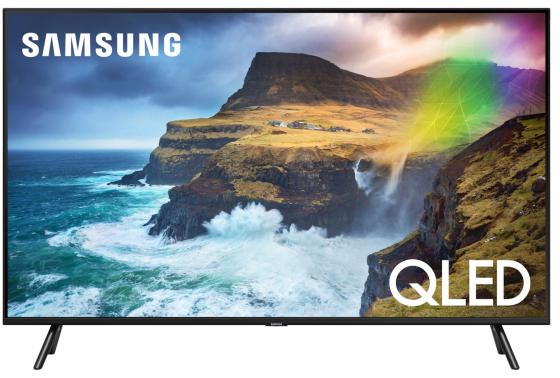 Телевизор QLED Samsung 49 QE49Q70RAUXRU серебристый/CURVED/Ultra HD/1000Hz/DVB-T2/DVB-C/DVB-S2/USB/WiFi/Smart TV (RUS) телевизор samsung qe55q6f 55 дюймов smart tv qled