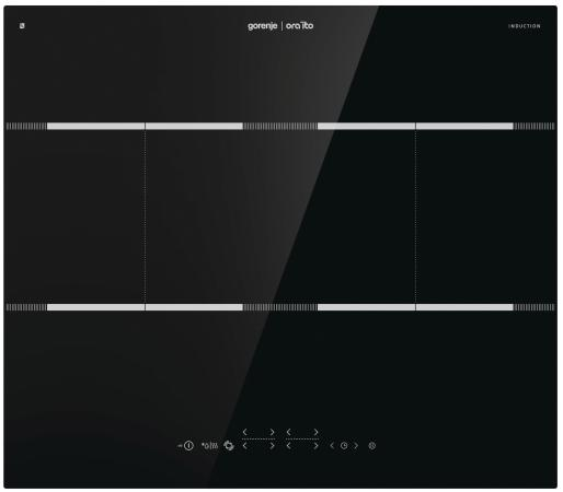 Индукционная варочная поверхность Gorenje IT646ORAB черный