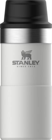 Термокружка Stanley The Trigger-Action Travel Mug 10-09848-008 (10-06440-016) 0,35л белый stanley the trigger action travel mug черный