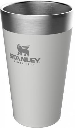 Термостакан Stanley Adventure Stacking Vacuum Pint 0,47л белый 10-02282-059