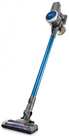 лучшая цена Вертикальный пылесос KITFORT КТ-541-1 сухая уборка синий