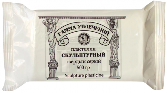 Пластилин Гамма ГАММА УВЛЕЧЕНИЙ 1 цвет