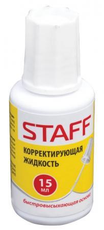 Корректирующая жидкость STAFF Корректирующая жидкость 15 мл