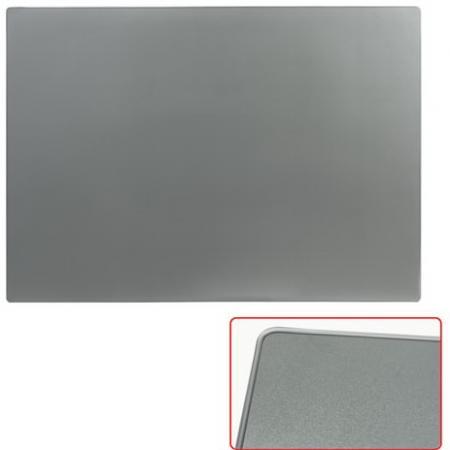 Коврик-подкладка настольный для письма, 655х475 мм, прозрачный серый,
