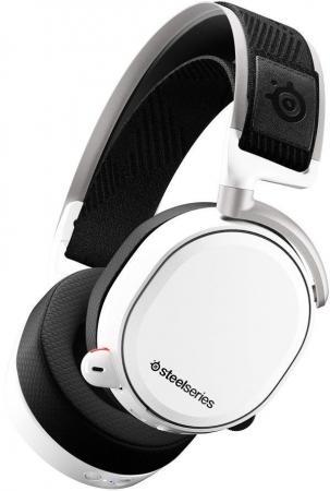 лучшая цена Игровая гарнитура беспроводная Steelseries Arctis Pro Wireless белый 61474