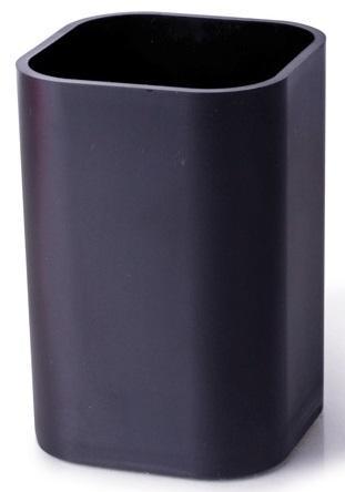 Подставка-органайзер (стакан для ручек), черный, 22037 цены онлайн