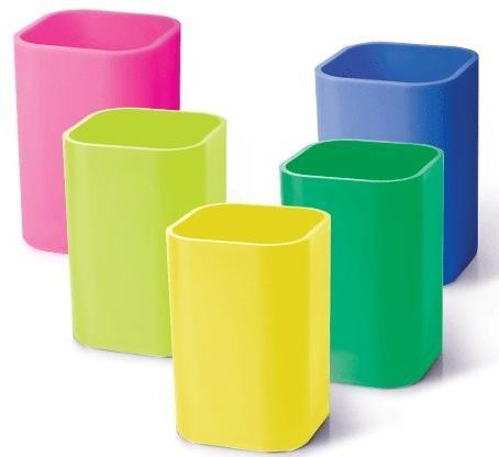 Подставка-органайзер (стакан для ручек), 5 цветов ассорти, 220533 цены онлайн