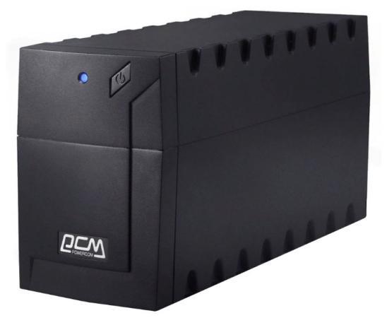 ИБП Powercom RAPTOR 1000VA RPT-1000AP EURO ибп powercom rpt 1000a raptor 1000va 600w avr 2 1 euro