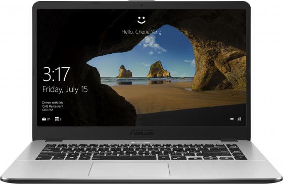 "Ноутбук Asus VivoBook X505ZA-BQ074T Ryzen 5 2500U/8Gb/SSD256Gb/AMD Radeon Vega 8/15.6""/FHD (1920x1080)/Windows 10/grey/WiFi/BT/Cam цена"