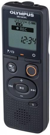 цена на Диктофон Цифровой Olympus VN-541PC + microphone ME-52 4Gb черный