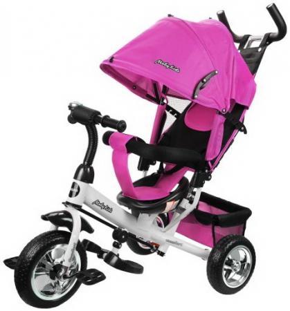 Велосипед трехколёсный Moby Kids Comfort 10/8 розовый