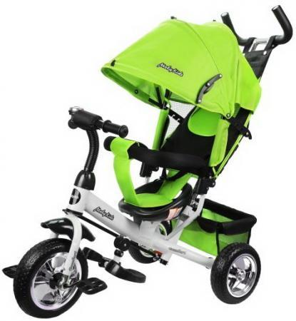 Велосипед трехколёсный Moby Kids Comfort 10/8 зеленый