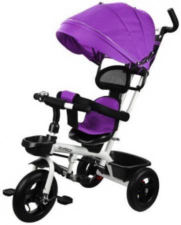 Велосипед трехколёсный Наша Игрушка Новый Старт 360° 10/8 фиолетовый