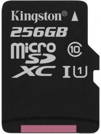 Флеш карта microSDXC 256Gb Class10 Kingston SDCS/256GBSP Canvas Select w/o adapter флеш карта м