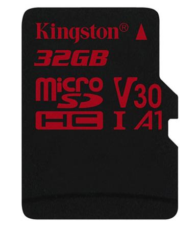 Флеш карта microSDHC 32Gb Class10 Kingston SDCR/32GBSP Canvas React w/o adapter kingston sdc10g2 32gb microsdhc 32gb class10