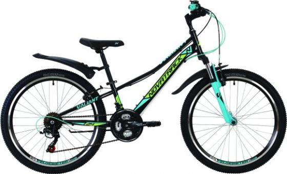 Велосипед двухколёсный NOVATRACK Valiant 24 черный цена