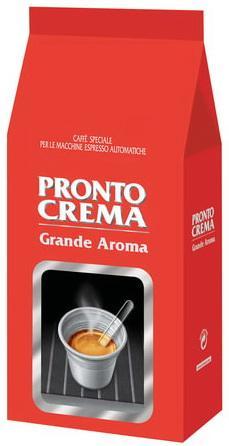 Кофе в зернах LAVAZZA (Лавацца) Pronto Crema, натуральный, 1000 г, вакуумная упаковка, 7821 eilles gourmet cafe crema кофе в зернах 1000 г