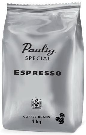 Кофе в зернах PAULIG (Паулиг) Special Espresso, натуральный, 1000 г, вакуумная упаковка, 16545 кофе paulig паулиг эспрессо оригинальный в зернах 250г пакет
