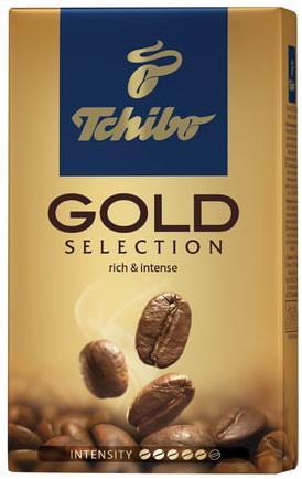 Кофе молотый TCHIBO (Чибо) Gold selection, натуральный, 250 г, вакуумная упаковка, 94368 tchibo espresso sicilia style кофе молотый 250 г