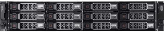 Дисковый массив Dell MD3800f x12 4x4Tb 7.2K 3.5 NL SAS 2x600W PNBD 3Y 2xCtrl 16G FC/4xSFP 16GB/4G Cache (210-ACCS-23) дисковый массив dell pv md3400 210 accg 14
