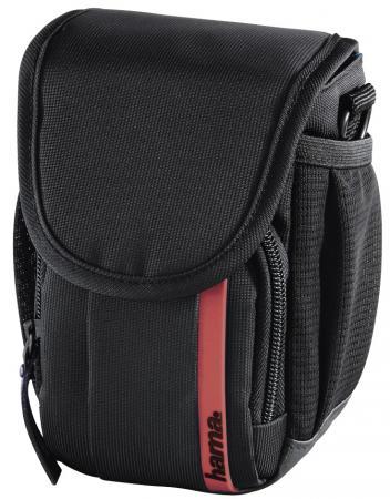 купить Сумка для фото/видеокамеры Hama Nashville 90 черный/красный по цене 610 рублей