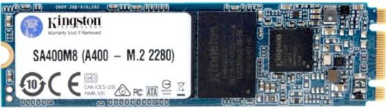 Накопитель SSD Kingston SATA III 120Gb SA400M8/120G A400 M.2 2280 kingston kingston sm2280s3g2 120g 120гб